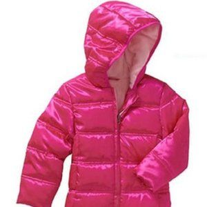 HEALTHTEX HOT PINK PUFFER JACKET COAT 24M